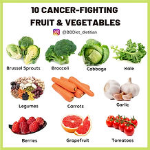 10 cancer-fighting fruit and vegetables
