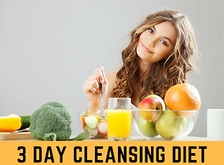 3 day cleansing diet BBDiet dietitian.pn