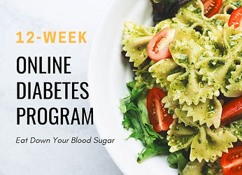 Online Diabetes Nutrition Program BBDiet