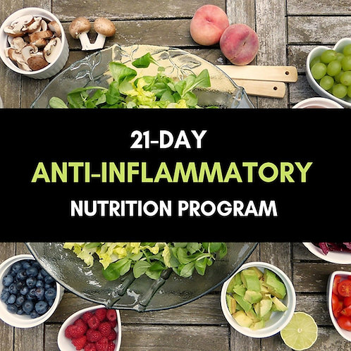Anti-Inflammatory Nutrition Program