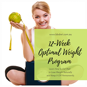 This program includes one-on-one dietitian consults (skype, email, phone or in person) and personalised meal plans who works with you closely to optimise your nutrition, lifestyle and mindset. The dietitian will keep you accountable, provide ongoing support and motivation to stay on track with the ultimate goal of achieving long-term sustainable weight loss and wellness.