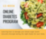 Online Diabetes Program BBDiet dietitian