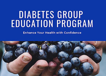 Diabetes group education program BBDiet.