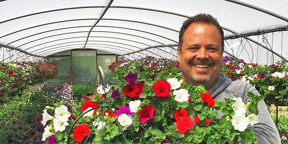 SOLD OUT - 11th Annual Hanging Basket Workshop - May 4