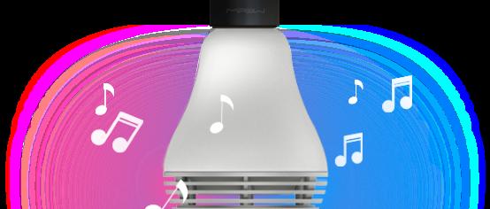 Лампочка Колонка Bluetooth MuzLight