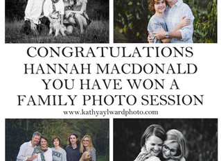 Competition Winner Announced - Brisbane Family Photographer