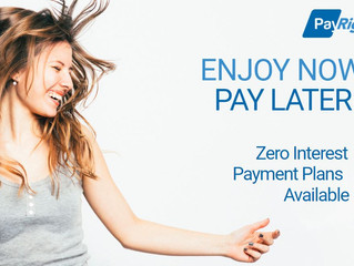 PayRight - Interest Free Payment Plans