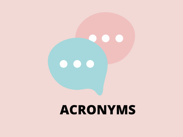 Интернет язык. Acronyms
