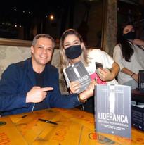 Lançamento do livro LIDERANÇA - DO CÉU AO INFERNO