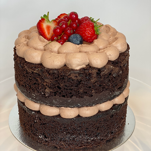 Vegan Dark Chocolate Cake