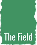 The Field logo white text on green.png