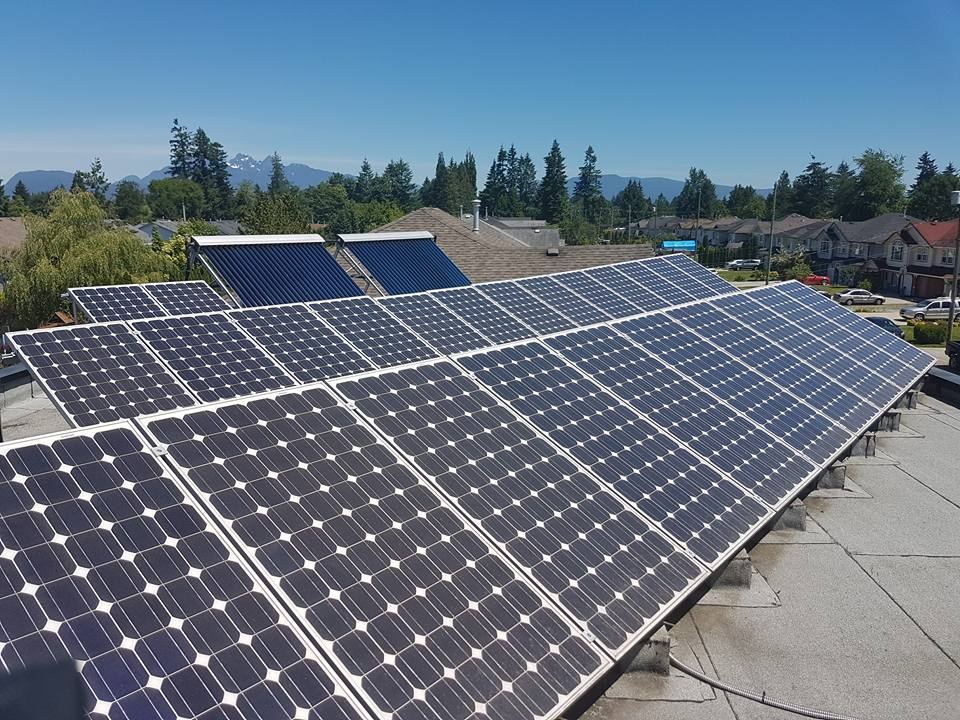 5kw Solar PV Array- Maple Ridge, BC