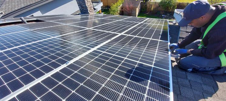 Hanwha Solar Panels, Enphase Micro Inver