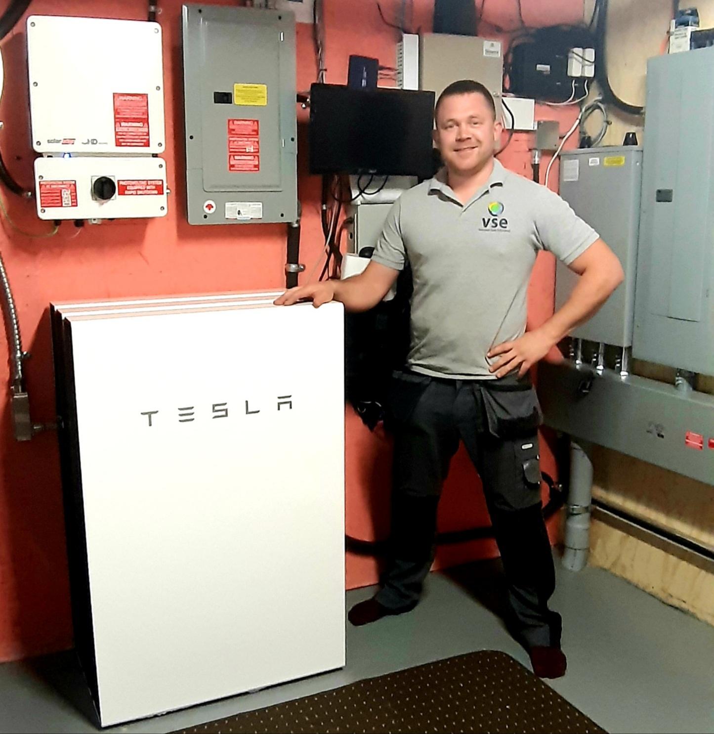 3x Tesla Powerwalls-Tarum Lloyd-Slave Lake, Alberta,