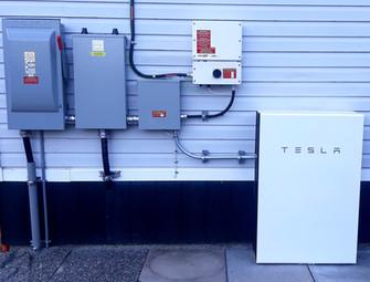 8.765KW Solar Panel & 2x Tesla Powerwall