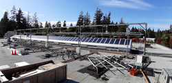 10KW Concentrated Solar mirror system, U