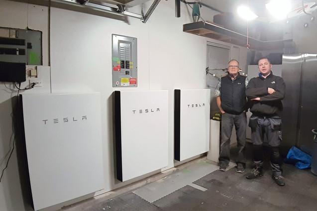 3x Tesla Powerwall Home Battery System-
