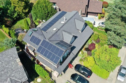 11.005KW LG Solar PV system- Tsawassen, Delta, BC