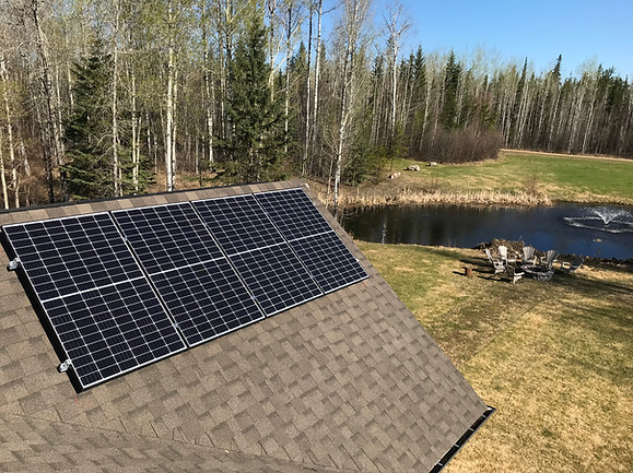 8x East_West Dormer Canadian Solar Panel