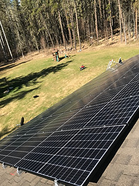 12x Canadian Solar 320W CS3K PV modules,
