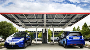 Charge your electric ev vehicle free using solar power car parks vancouver BC Canada