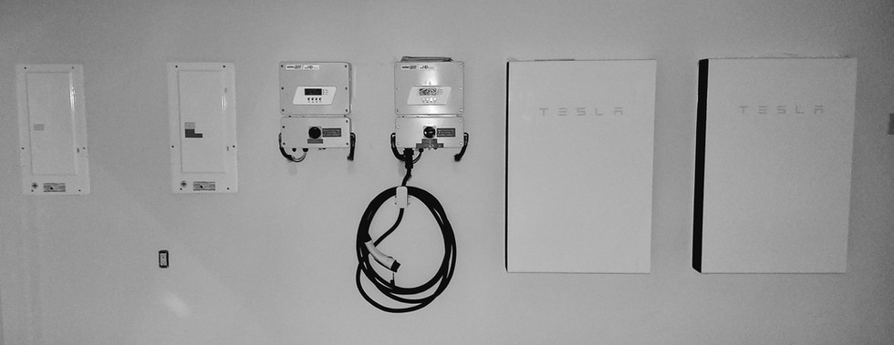Tesla Powerwall system- East Vancouver.j