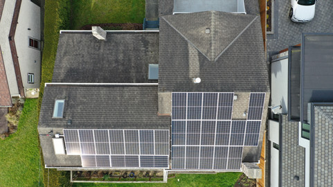 10.4 KW Hanwha Solar Panels, Enphase Mic