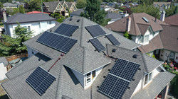 8.06KW Hanwha Solar PV Panel system- Ladner, Delta, BC