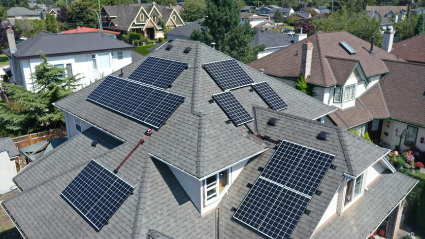 8.06KW Solar PV System,Ladner, Delta,BC