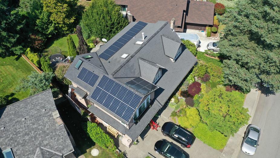 11.005KW Solar PV system, Tsawassen, Delta, BC