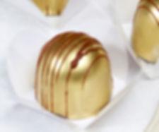Bombom dourado