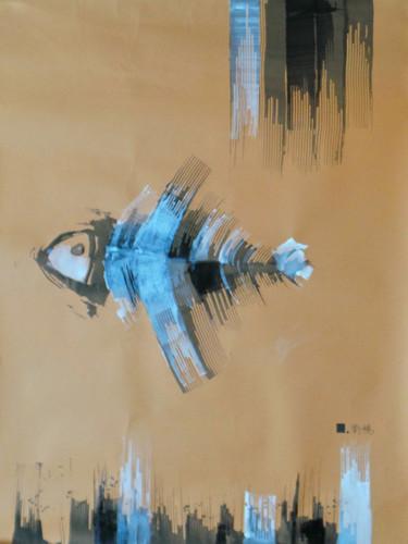 Le dernier poisson 3  | LIV CHANG - Artiste peintre chinois