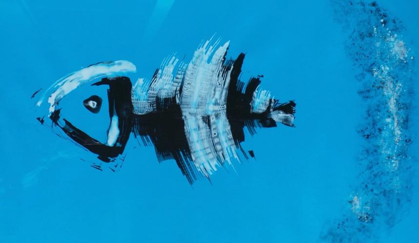 Le dernier poisson 4  | LIV CHANG - Artiste peintre chinois
