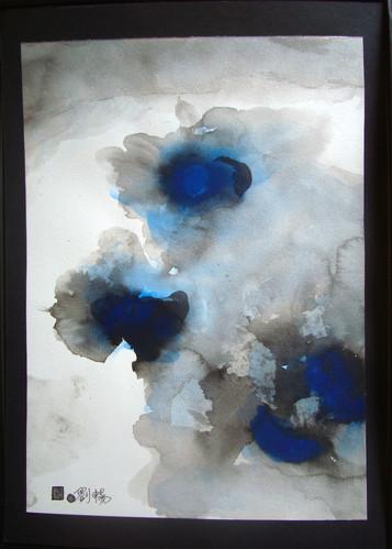 Jeu d'encre-12 | LIV CHANG - Artiste peintre chinois
