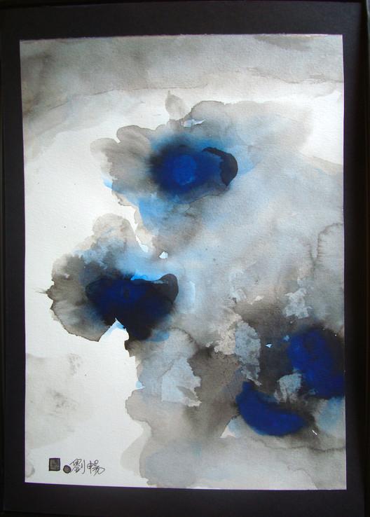 Jeu d'encre-12   LIV CHANG - Artiste peintre chinois