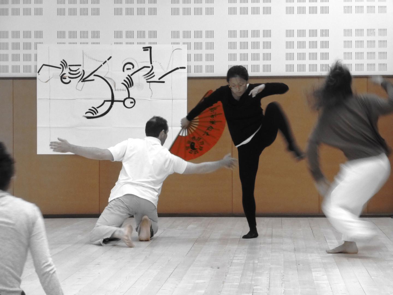 Lab 18h 6   LIV CHANG - peinture et danse