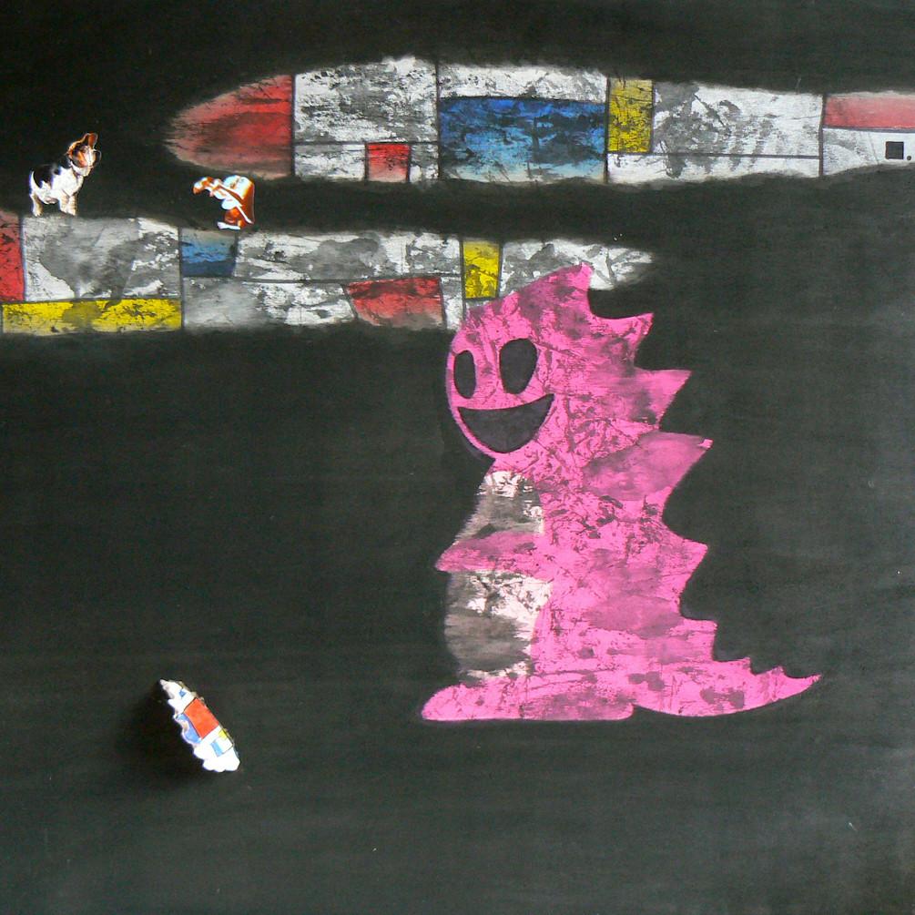 Une étrange inquiétude-dragon | LIV CHANG - Artiste peintre chinois