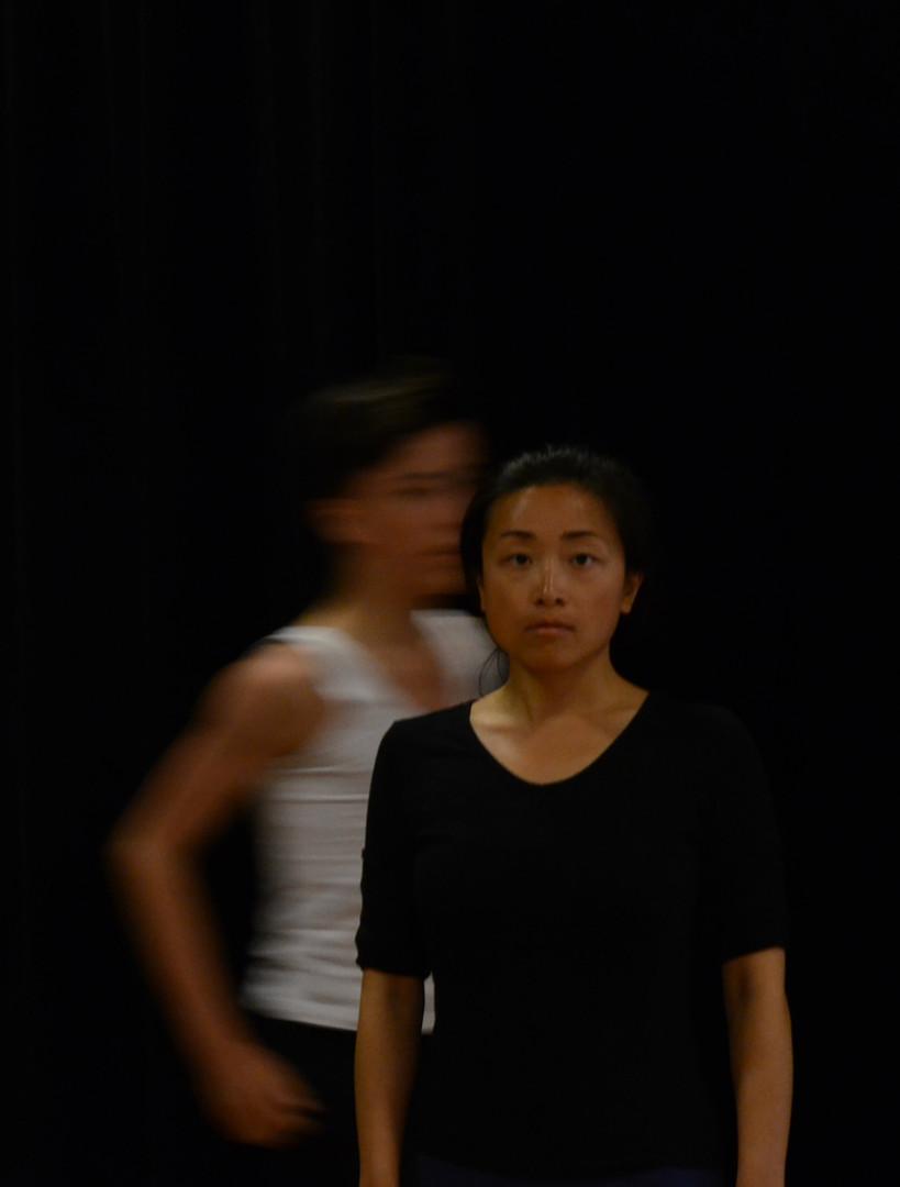 Bout   LIV CHANG - peinture et danse