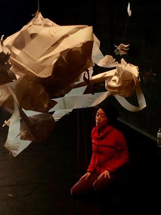 Make a Map | LIV CHANG - peinture et danse