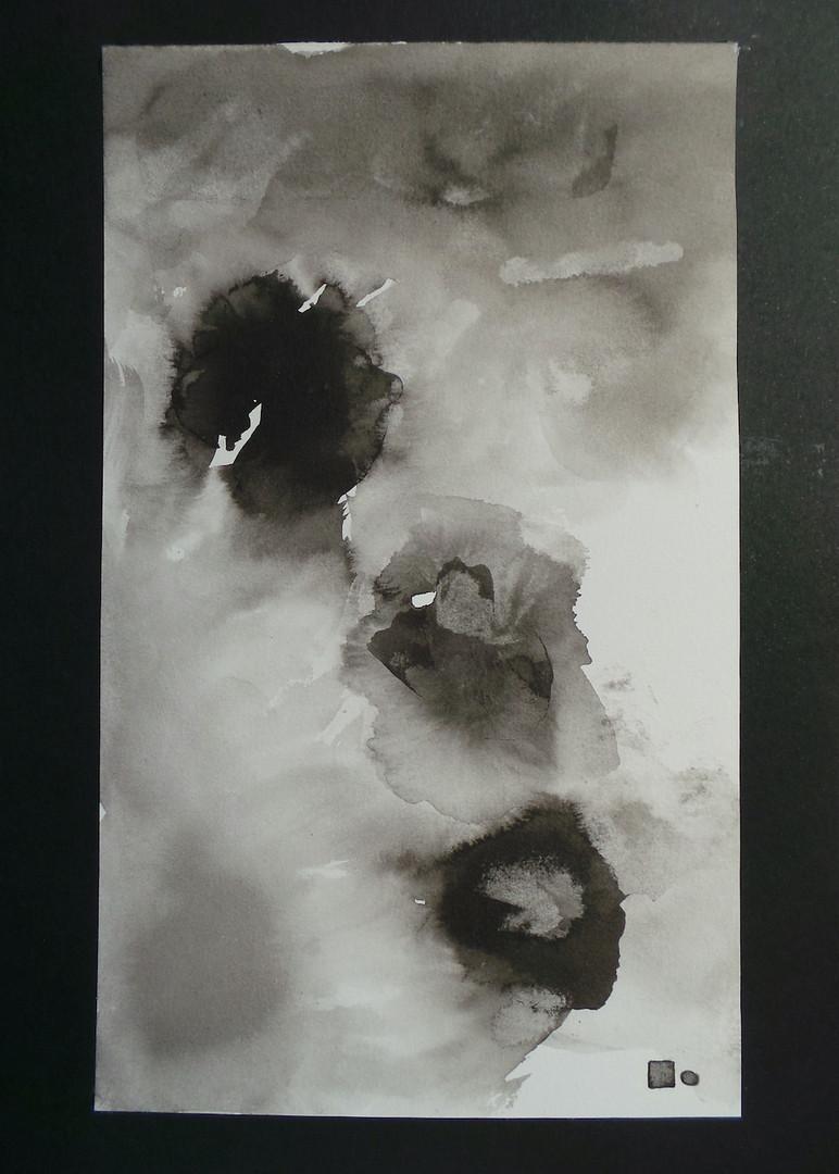 Jeu d'encre-11 | LIV CHANG - Artiste peintre chinois