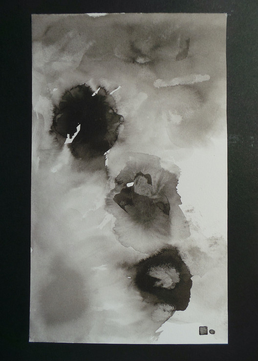 Jeu d'encre-11   LIV CHANG - Artiste peintre chinois