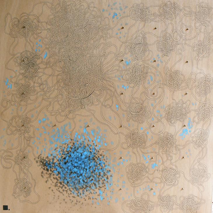 Une étrange inquiétude-circonstance | LIV CHANG - Artiste peintre chinois