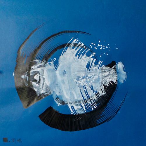 Le dernier poisson 1  | LIV CHANG - Artiste peintre chinois