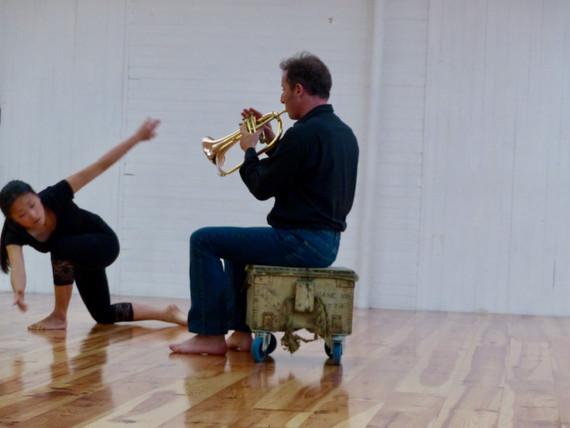 Atelier d'impro 2 | LIV CHANG - peinture et danse