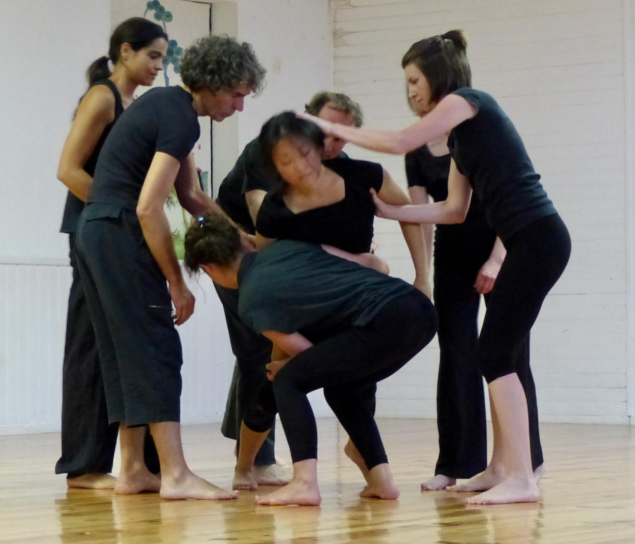 Atelier d'impro 1   LIV CHANG - peinture et danse