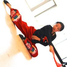 Danse Nouvel an chinois 2 | LIV CHANG - peinture et danse