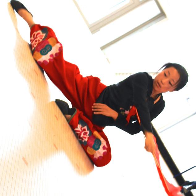Danse Nouvel an chinois 2   LIV CHANG - peinture et danse