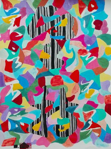 Le temps-5    LIV CHANG - Artiste peintre chinois