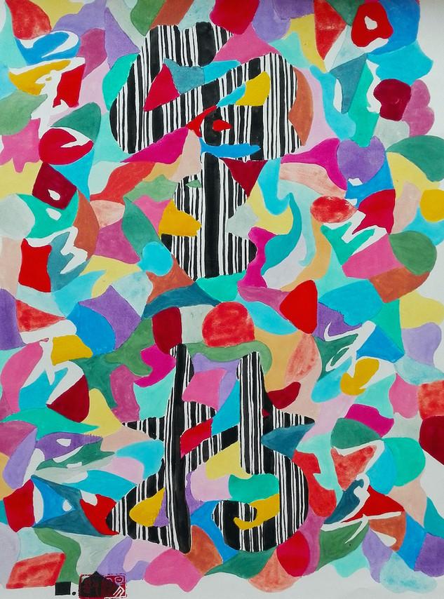 Le temps-5  | LIV CHANG - Artiste peintre chinois