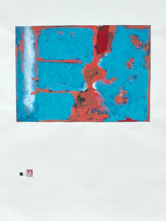 Le souvenir - La terre | LIV CHANG - Artiste peintre chinois